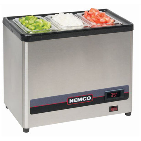 NEMCO 9020-1 CounterTop Condiment Chiller, 120v - NEW, OPEN BOX!