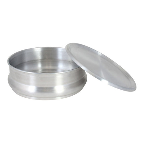 48 oz Stackable Aluminum Dough Pan, Qty of 3 ALDP048