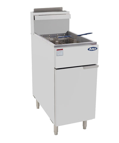 ATOSA HD 40lb SS Deep Fryer, NG/LP (ATFS-40)