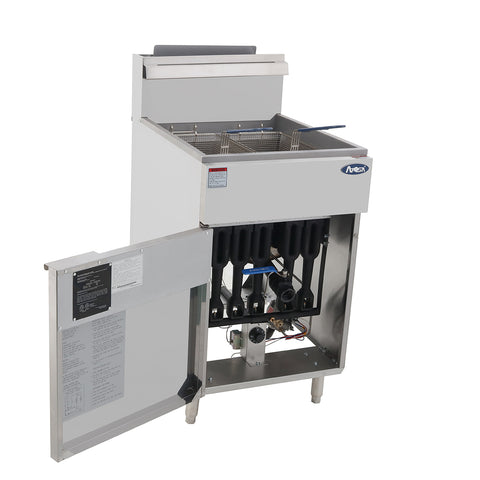 ATOSA HD 75lb SS Deep Fryer, NG/LP ATFS-75