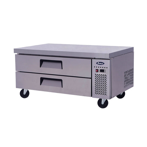 "ATOSA Chef Base: 48-in Chef Base 27""H w/5-in Casters MGF8450GR"