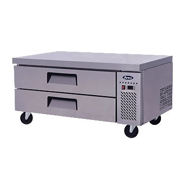"ATOSA Chef Base: 52-in Chef Base 27""H w/5-in Casters MGF8451GR"
