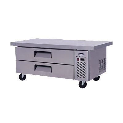 "ATOSA Chef Base: 60-in Chef Base 27""H w/5-in Casters MGF8452GR"