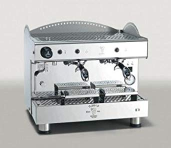 Espresso Machine 2 Head - Semi Auto Tank C2013PM2IS3
