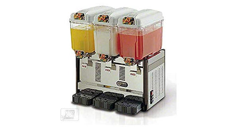 COFRIMELL 3-Flavor Cold Beverage/Juice Dispenser, CD3J, 110v