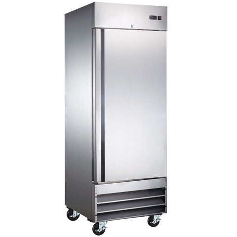 "Coldline CFD-1RR-HC 29"" Single Solid Door Reach-In Refrigerator - 23 Cu. Ft."