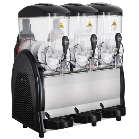 Coldline GRANITA-3. 3-Flavor Pour-Over Granita Slush Machine, 110v