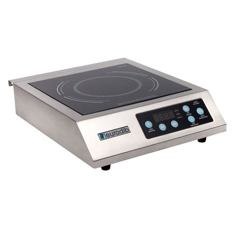 EURODIB S/S Heavy Duty Induction Burner - 110v IHE3097