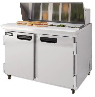 "LEADER 36"" Bain Marie/Prep Table Cooler (Self-Contained) ESLM36"