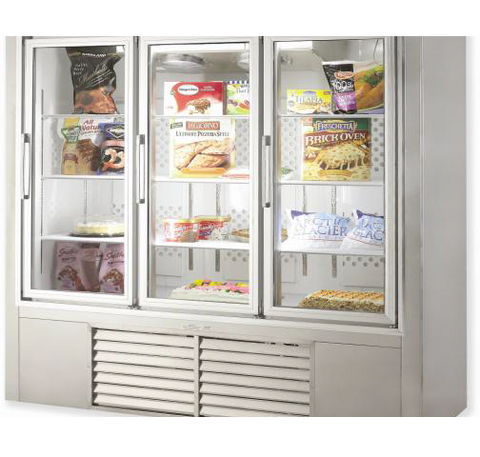"LEADER 30"" Pull Glass Door Freezer - 1 Dr (Self-Contained) ESPF30"