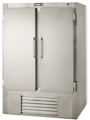 "LEADER 54"" Solid Door Reach-In Freezer 2-Dr (Self-Contained) ESFR54"