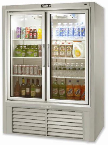 "LEADER 30"" Soda Case w/ Pull Glass Doors (1 Door) ESPS30"