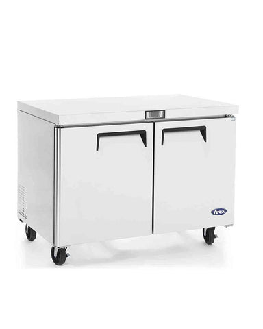 ATOSA Lowboy: 48-in Undercounter-Freezer w/5-in Casters