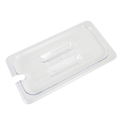 Third-Size Poly Food Pan Cover, Slotted- Qty of 3 PLPA7130CS