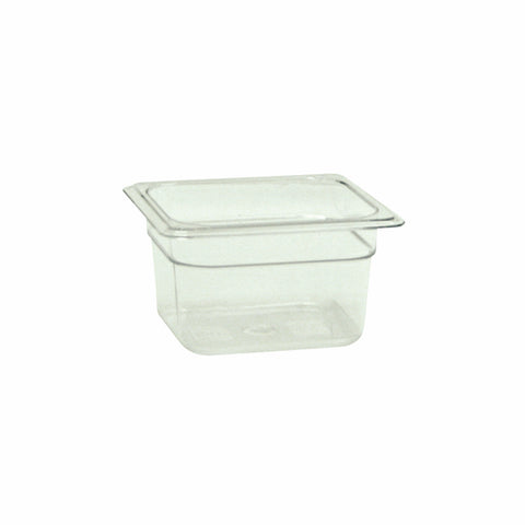 "Sixth-Size Poly Food Pan, 4"" Deep- Qty of 3 PLPA8164"