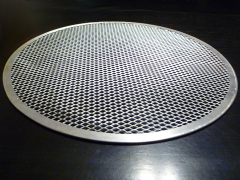 "12"" Seamless Rim Pizza Screens, Quantity of 3 ALPZ12"