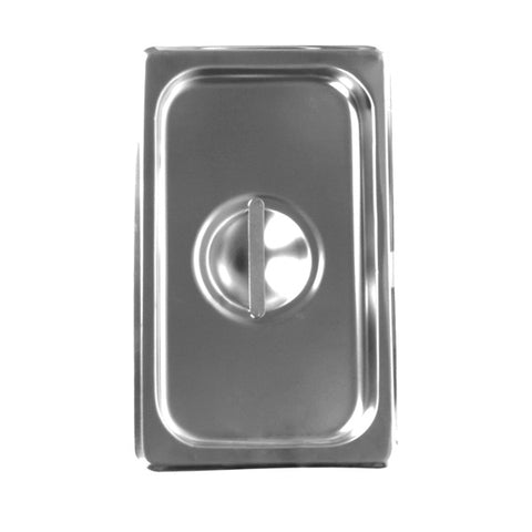 Third-Size S/S Steam Pan Cover, Solid- Quantity of 3 STPA7130C