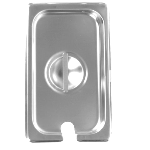 Third-Size S/S Steam Pan Cover, Slotted- Quantity of 3 STPA7130CS