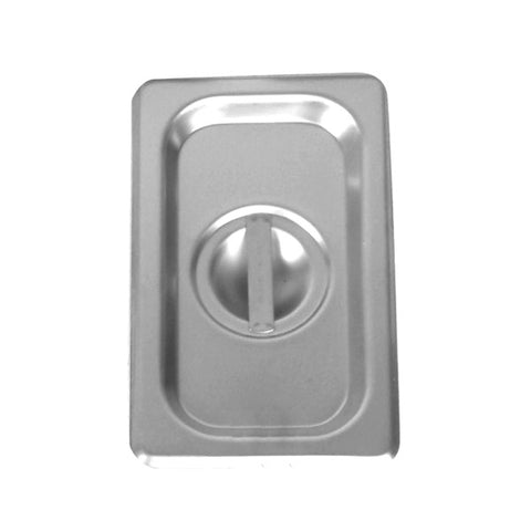 Quarter-Size S/S Steam Pan Cover, Solid- Quantity of 3 STPA7140C
