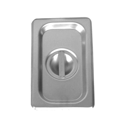 Sixth-Size S/S Steam Pan Cover, Solid- Quantity of 3 STPA7160C