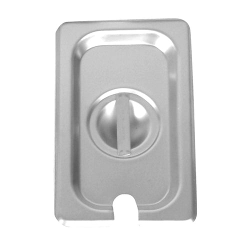 Sixth-Size S/S Steam Pan Cover, Slotted- Quantity of 3 STPA7160CS
