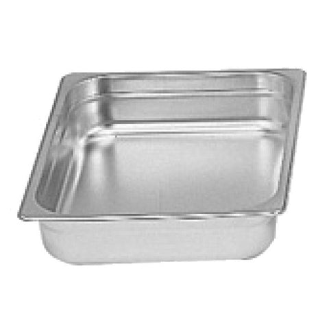 "Half-Size S/S Steam Pan, 2"" Deep- Quantity of 3 STPA9122"