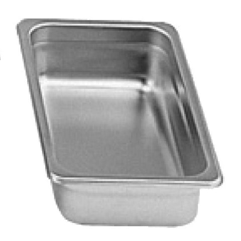 "Third-Size S/S Steam Pan, 2"" Deep- Quantity of 3 STPA9132"