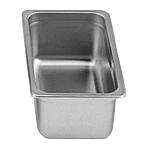 "Third-Size S/S Steam Pan, 4"" Deep- Quantity of 3 STPA9134"