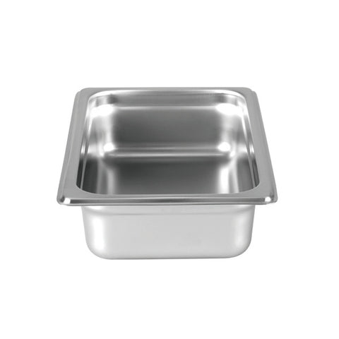 "Quarter-Size S/S Steam Pan, 2"" Deep- Quantity of 3 STPA9142"