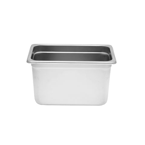 "Quarter-Size S/S Steam Pan, 6"" Deep- Quantity of 3 STPA9146"
