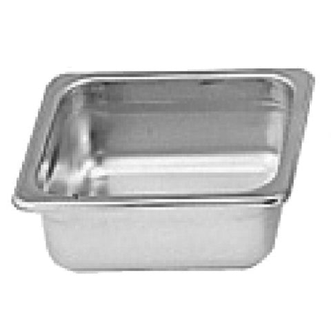 "Sixth-Size S/S Steam Pan, 2"" Deep- Quantity of 3 STPA9162"