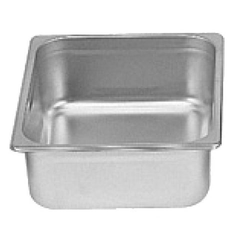 "Sixth-Size S/S Steam Pan, 4"" Deep- Quantity of 3 STPA9164"