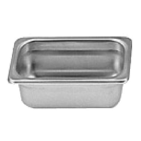 "Ninth-Size S/S Steam Pan, 2"" Deep- Quantity of 3 STPA9192"
