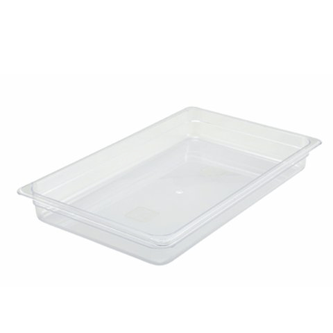 "Full-Size Poly Food Pan, 2"" Deep"