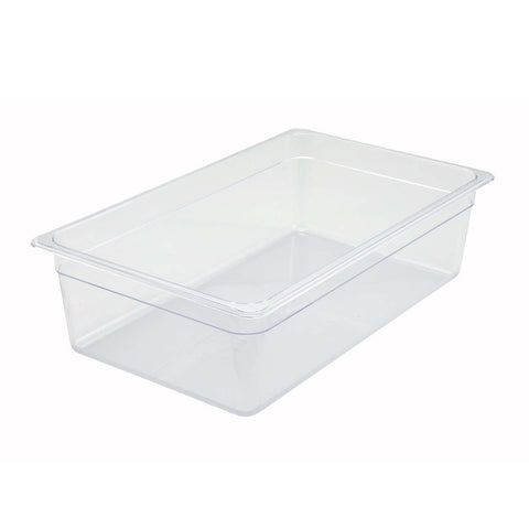 "Full-Size Poly Food Pan, 6"" Deep"