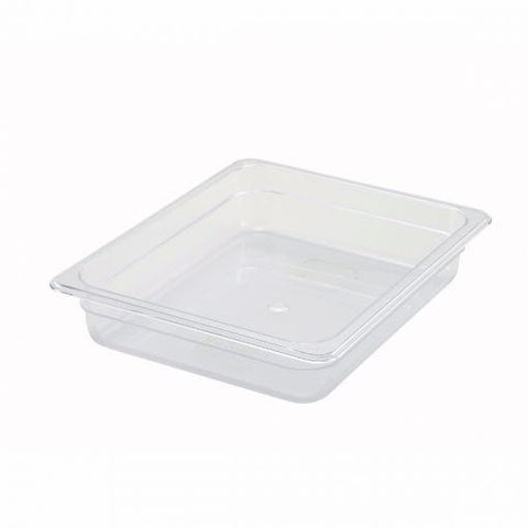 "Half-Size Poly Food Pan, 2"" Deep"