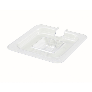 Sixth-Size Poly Food Pan Cover, Slotted