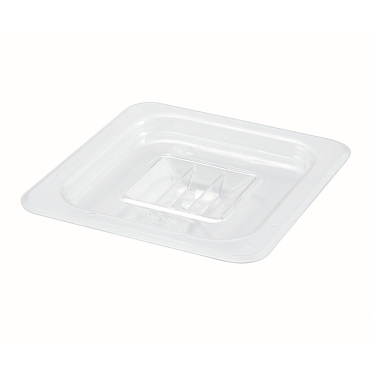 Sixth-Size Poly Food Pan Cover, Solid