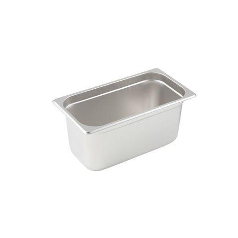 "Third-Size S/S Steam Pan, 6"" Deep, Each STPA9136"