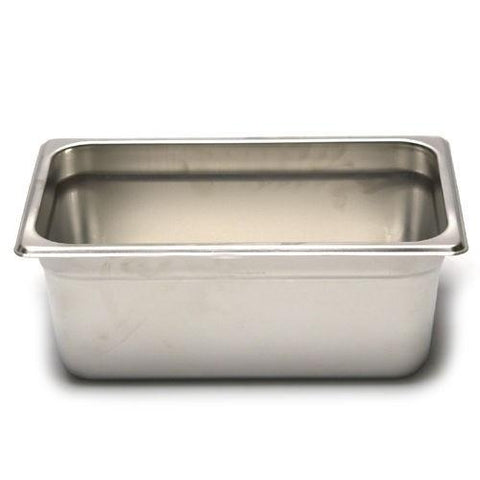 "Quarter-Size S/S Steam Pan, 4"" Deep, Each STPA9144"