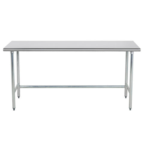 Stainless Steel Work/Prep Table w/Welded Crossbar