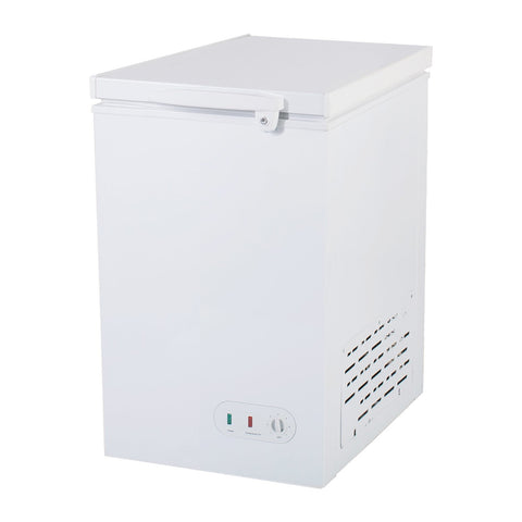 MAXX Cold MXSH3.4S Flat Chest Freezer, White