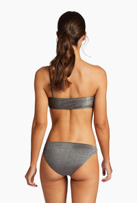 Luciana Bottom - Graphite Metallic | Vitamin A