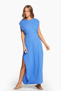 Florence Dress - Spa Blue EcoCotton