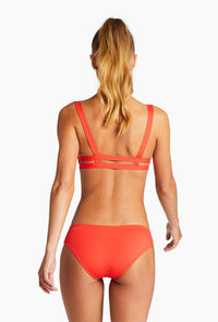 Emelia Triple Strap Bottom - Marisol EcoLux | Vitamin A
