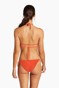 Elle Tie Side Bottom  - Papavero EcoRib | Vitamin A