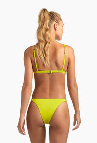 citron colored teeny bikini bottom