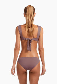 Dusty Purple Fit Full Coverage Bikini Bottom
