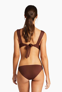Luciana Full Coverage Bottom - Vintage Brown EcoLux