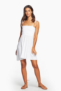 Gigi Dress - EcoCotton White
